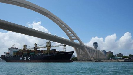An artist's rendition of the second Kigamboni bridge which is scheduled to be completed in 2019. Photo: CC Ken Zhao