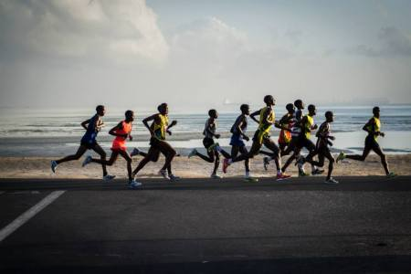 The Rotary Dar Marathon hopes to raise 1 billion TSH this year. Photo: Rotary Dar Marathon