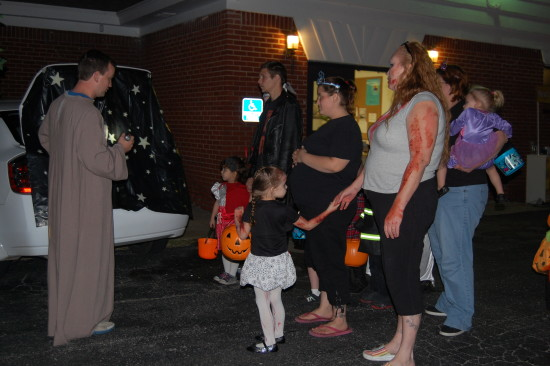Trunk or Treat Candy Thru the Bible