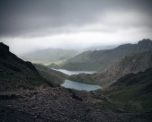 2 Pic-Stitch Looking Out From Snowdon