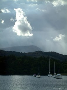 Lake Windermere in the Lake District - England