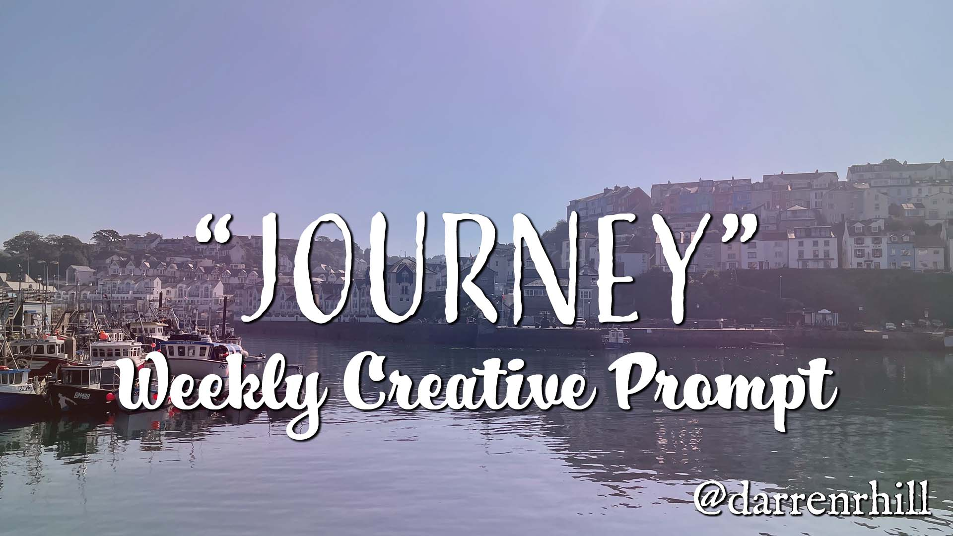 journey weekly creative prompt