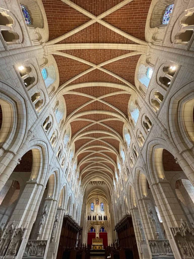 roof of Buckfast Abbey