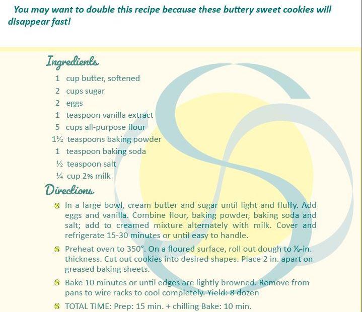 Cookie recipe of Darrensites
