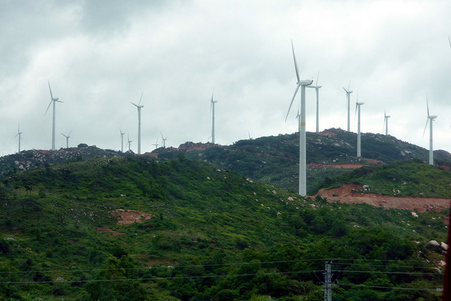 """Wind Farm Shantou China"" by dcmaster on Flickr"