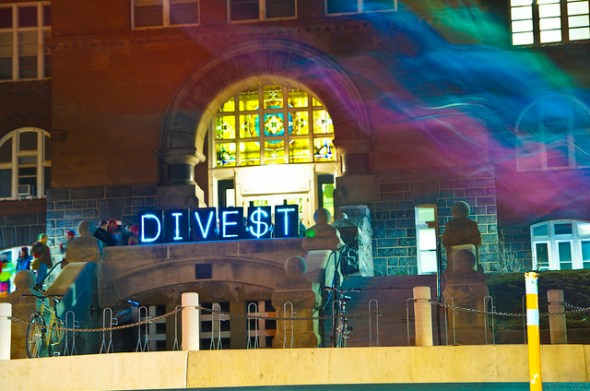 """""""Divestment Wave Around the Nation"""" by Light Brigading on Flickr"""