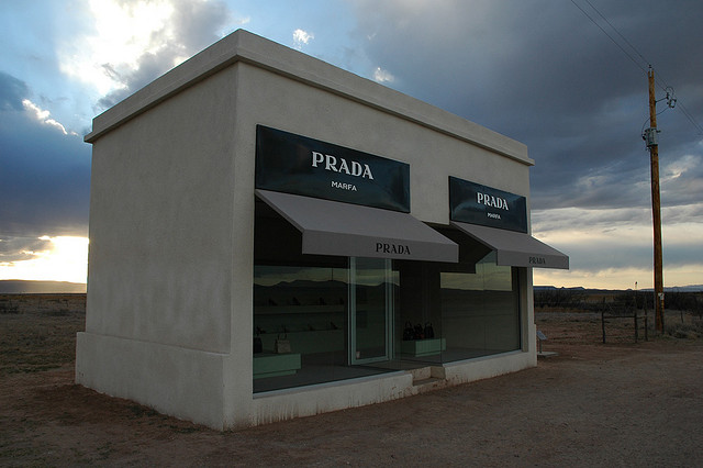 """Prada Marfa"" by informedmindstravel on Flickr"