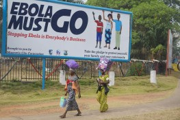 """""""Ebola must go"""" by UNMEER on Flickr"""