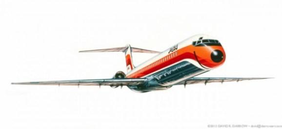 PSA Airlines Artwork