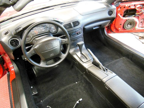 Honda Del Sol Custom Interior Parts