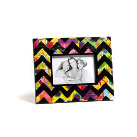 chevron-picture-frame