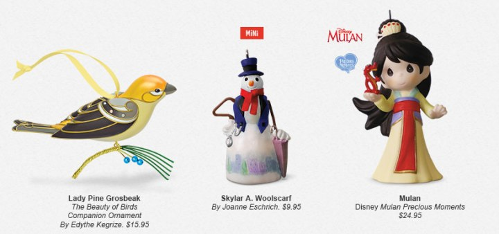 Hallmark Limited Edition Ornaments