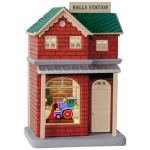 Keepsake Korners Halls Station Hallmark Christmas Ornament