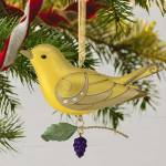 Beauty of Birds Lady Summer Tanager Premiere Hallmark Ornament