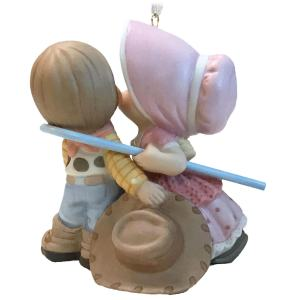 Woody and Bo Peep Precious Moments Hallmark Ornament