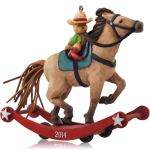 2014 A Pony For Christmas QX9133