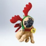 2011 Puppy Love Pug Hallmark Keepsake