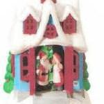 2010 Kissmas Cottage #1 in Hallmark Kringleville Series