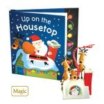 2010 Up on the Housetop Hallmark Magic Book and Ornament