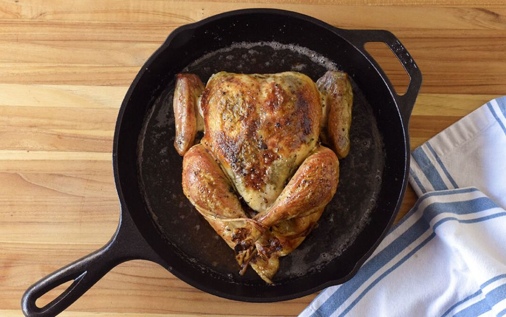 Black Truffle Roast Chicken Recipe | D'Artagnan