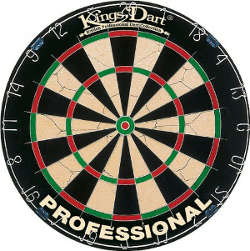 Kings Dart Turnierboard Steel Dartscheibe Spider