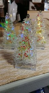 LED Fused Glass Trees