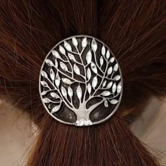 Tree of Live Pewter Pony Tail Cover