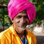 Man with turban by Prasad N