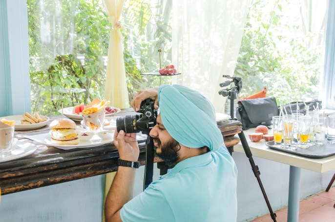 Food photography and styling workshop  Hardit Singh Bedi