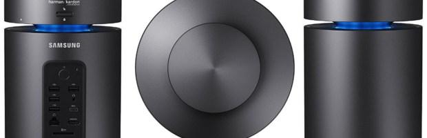 Arriva l'ufficialità del Samsung ArtPC Pulse, un computer dalla forma cilindrica con audio a 360° integrato