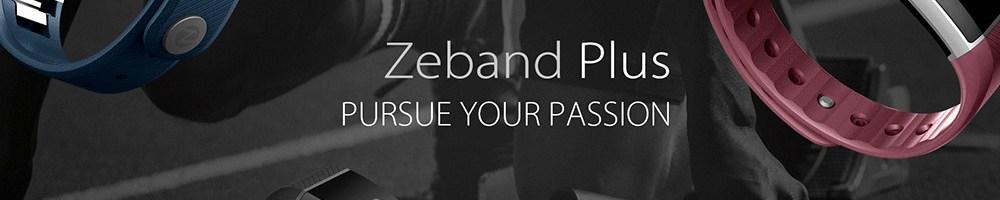 Ecco la Zeblaze Zeband Plus, una nuova smartband rivale della Xiaomi Mi Band 2
