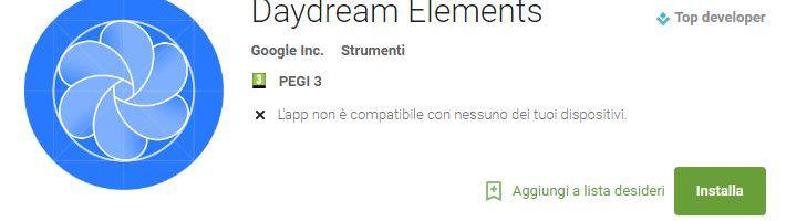 Google Daydream elements: rilasciata l'app VR per sviluppatori