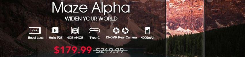 Maze Alpha è disponibile in preordine su GearBest ad un prezzo molto interessante