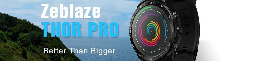 Zeblaze Thor PRO: ecco le caratteristiche del prossimo smartwatch dell'azienda cinese