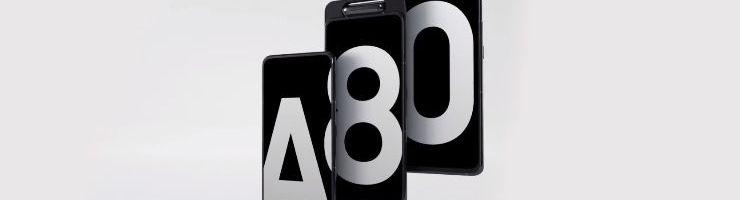 Galaxy A80 arriva in Italia: lo smartphone di Samsung con tripla fotocamera rotante