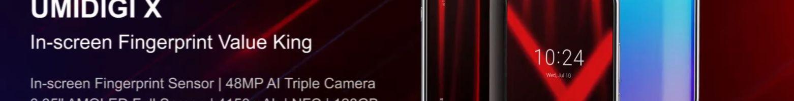 UMIDIGI X disponibile in preordine (con regalo): una valida alternativa al solito Redmi Note 7 ed allo Xiaomi Mi A3