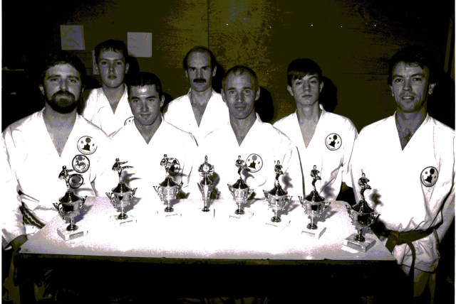 Nostalgic Karate Photographs
