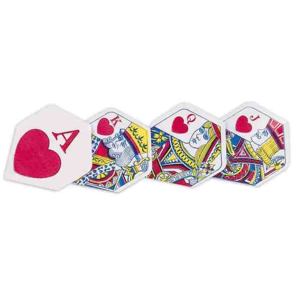 Unicorn Ace Of Hearts Polyflite Dart Flights