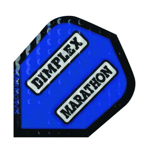 Harrows Marathon Dimplex Dart Flights - Blue