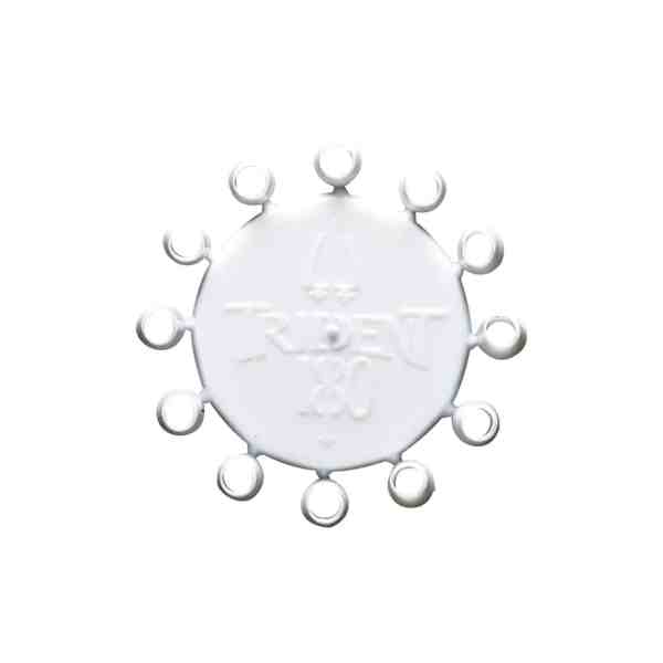 Winmau Trident 180 White Dart Point Caps