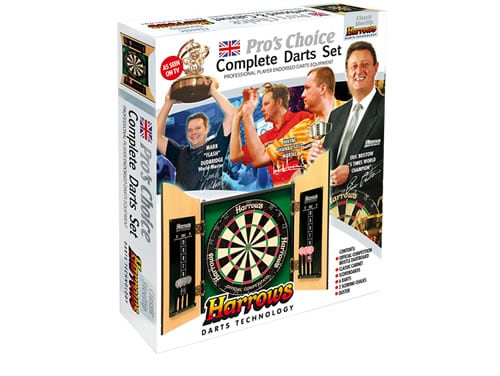 Harrows Pros Choice Complete Dart Set