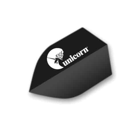 Unicorn Black Maestro Dart Flights - Shield