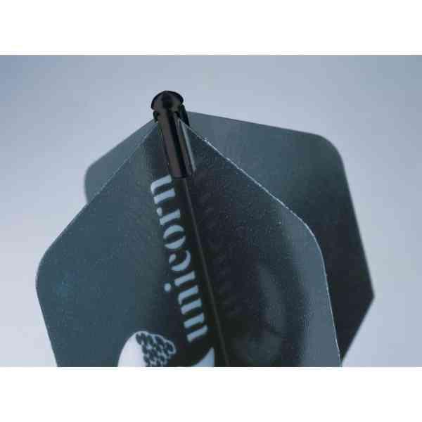 Unicorn Black Dart Flight Protectors
