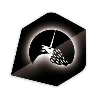 Unicorn Silver Logo Metallic Polyflite Dart Flights