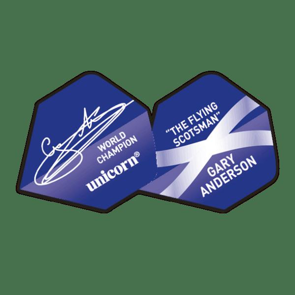 Unicorn Authentic 100 Big Wing World Champion Gary Anderson Flights