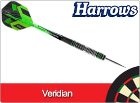 Harrows Veridian Darts