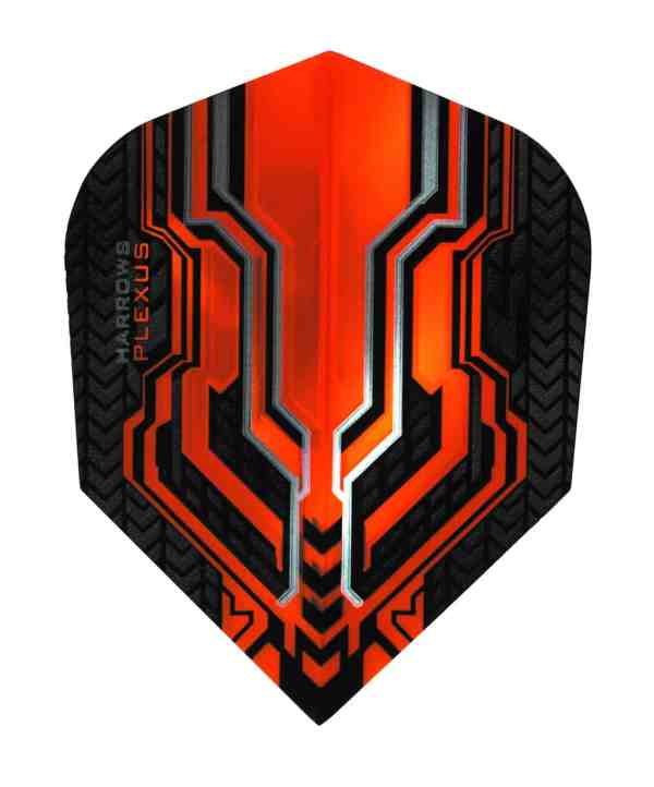 Harrows Plexus Orange Dart Flights