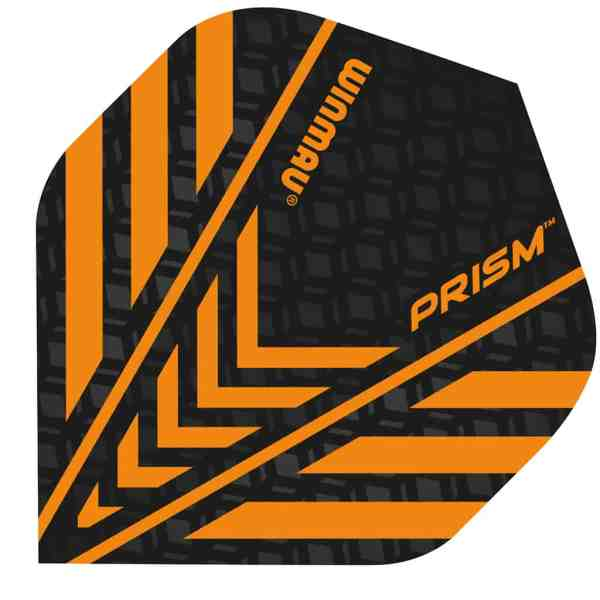 Winmau Orange Prism Dart Flights