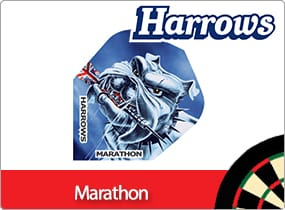 Harrows Marathon Dart Flights