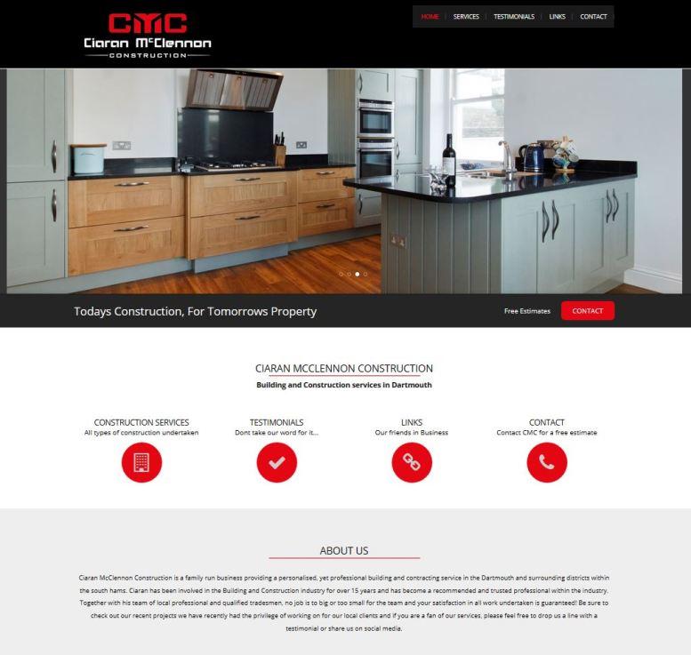 Ciaran Mcclennon - Builder Devon Website